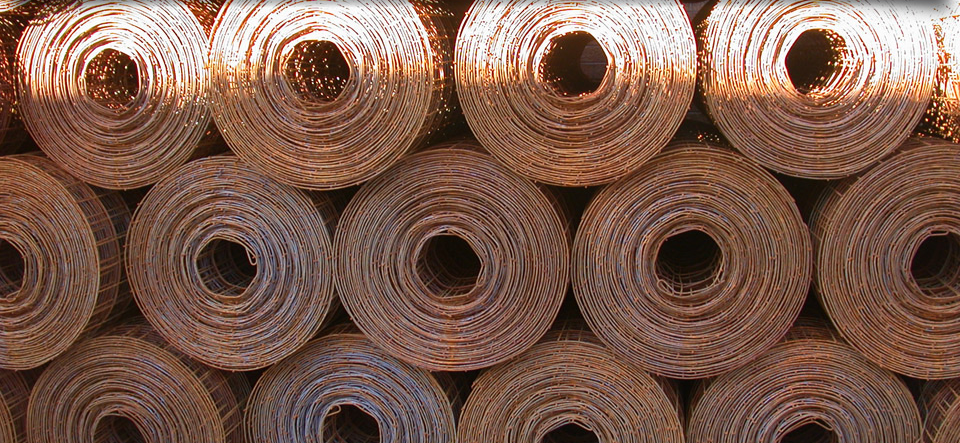 Rolls of custom steel work